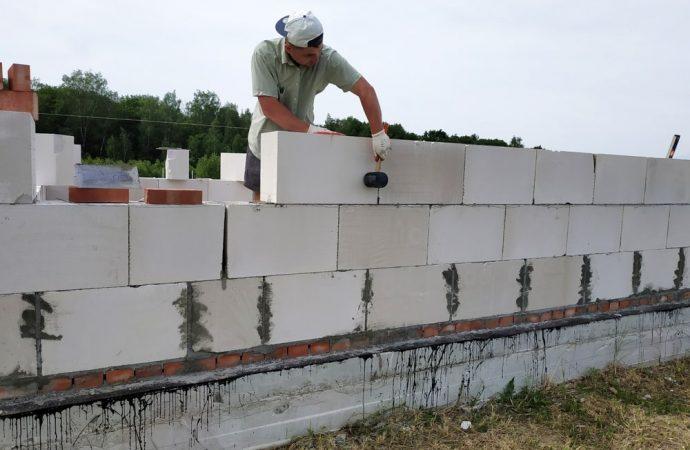 Nietypowe zastosowanie silikatów i betonu komórkowego
